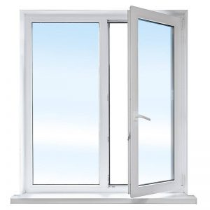 PVC Fönster Öppet