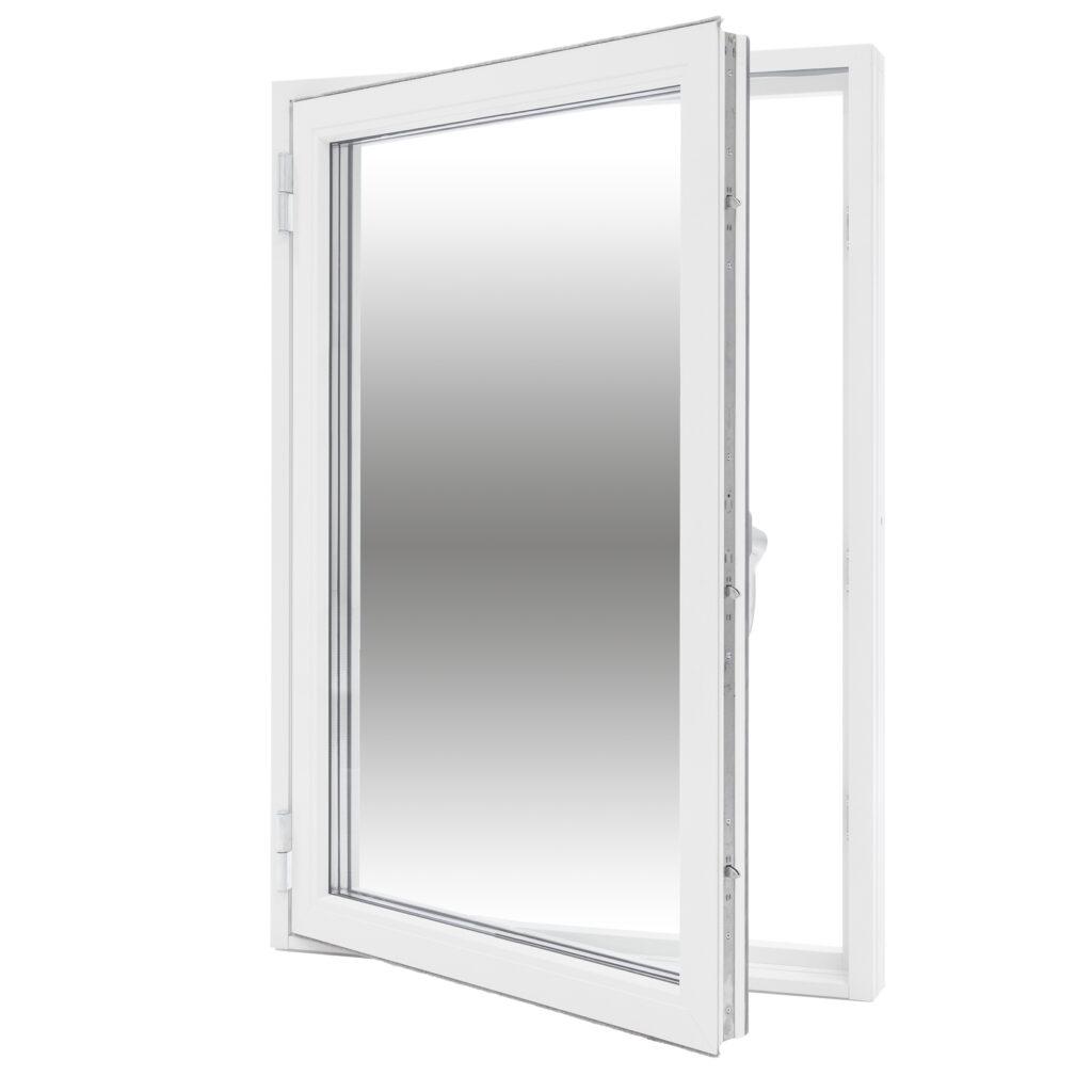 Sidohängt 1 Luft – Trä/Alu – Flex Fönster