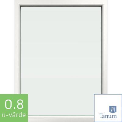 Tanum Fast Fönster Trä Alu front 0.8 uvärde