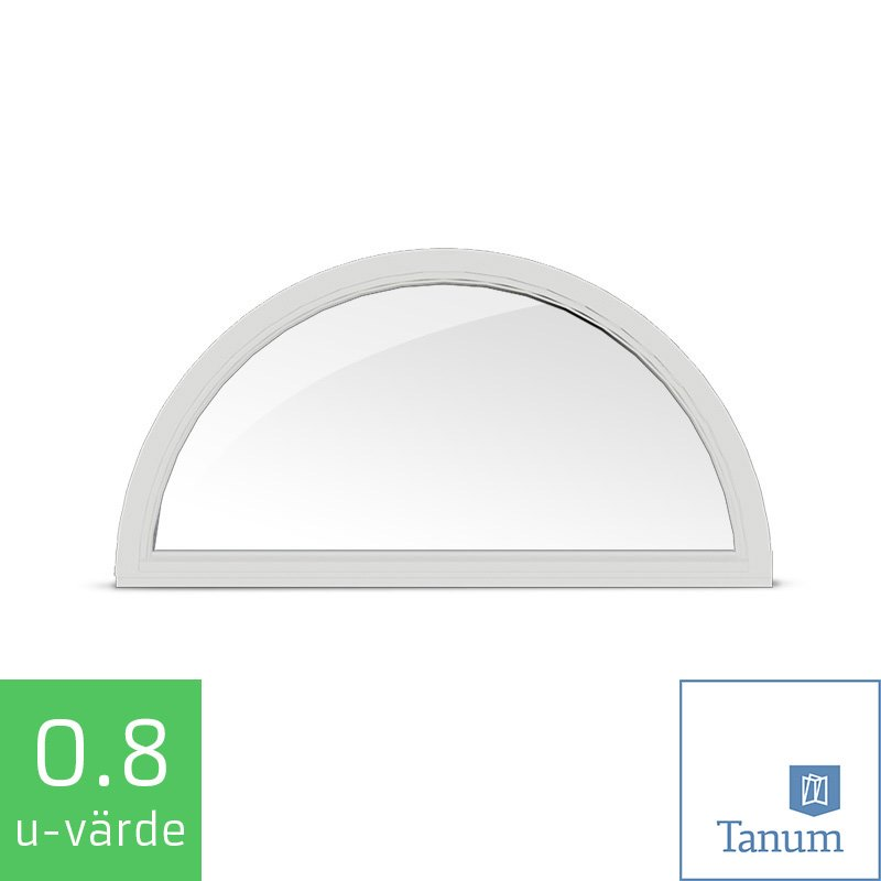 Open Window Clipart Clipart Suggest: Tanum Fast Halvrunt Fönster Trä Alu
