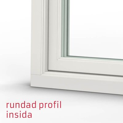 Tanum Fönster Rundad Profil Trä Insida
