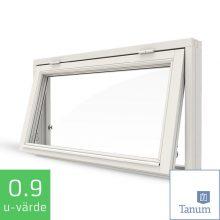 Tanum Kultur Fönster NorDan Överkantshängt Fönster Källarfönster Trä Aluminium