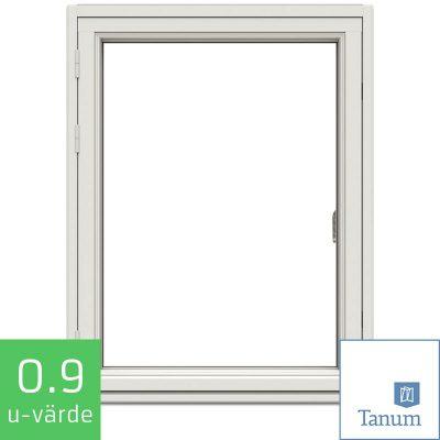 Tanum Fönster NorDan Sidohängt Fönster Trä Aluminium
