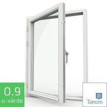 Tanum Fönster NorDan Sidohängt Fönster Trä