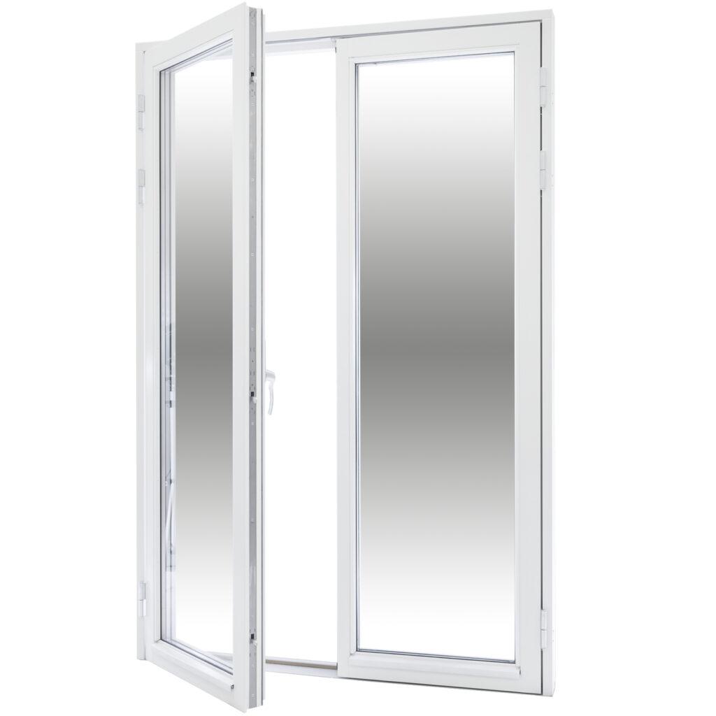 Par Altan/Balkongdörr Helglasad 3 Glas – Trä – Flex Fönster