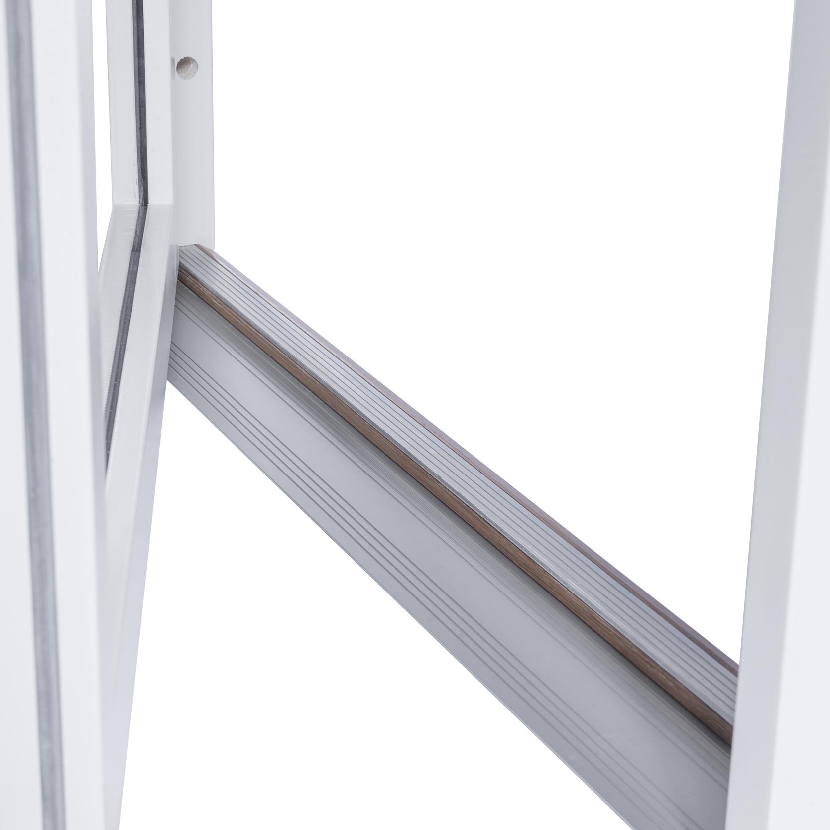 Enkel Altan/Balkongdörr – Trä/Alu – Flex Fönster