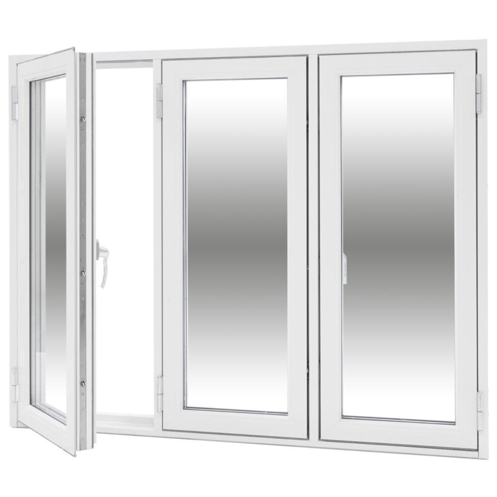 Sidohängt 3 Luft – Trä/Alu – Flex Fönster