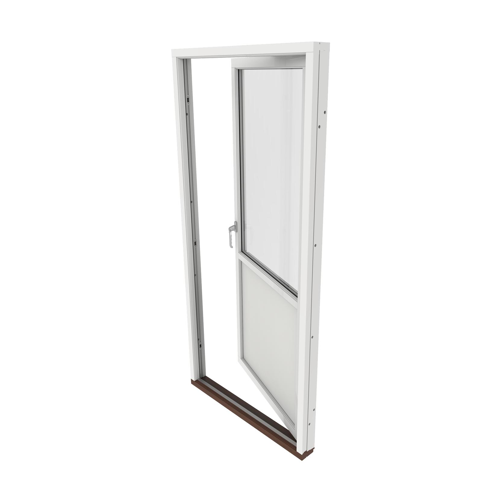 Enkel Altan/Balkongdörr 2 Glas – Trä – Outline – Kort leveranstid
