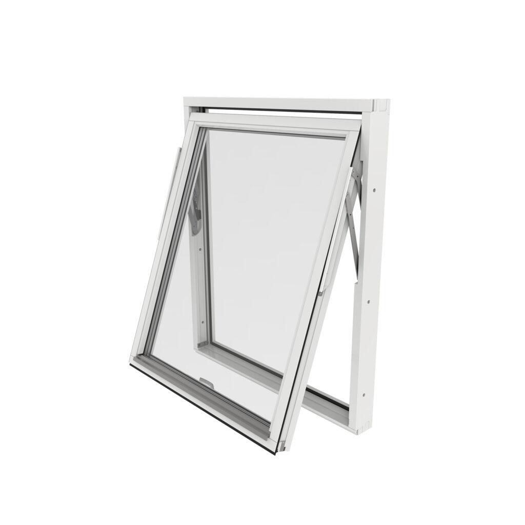 Vridfönster – Trä/Alu – Outline