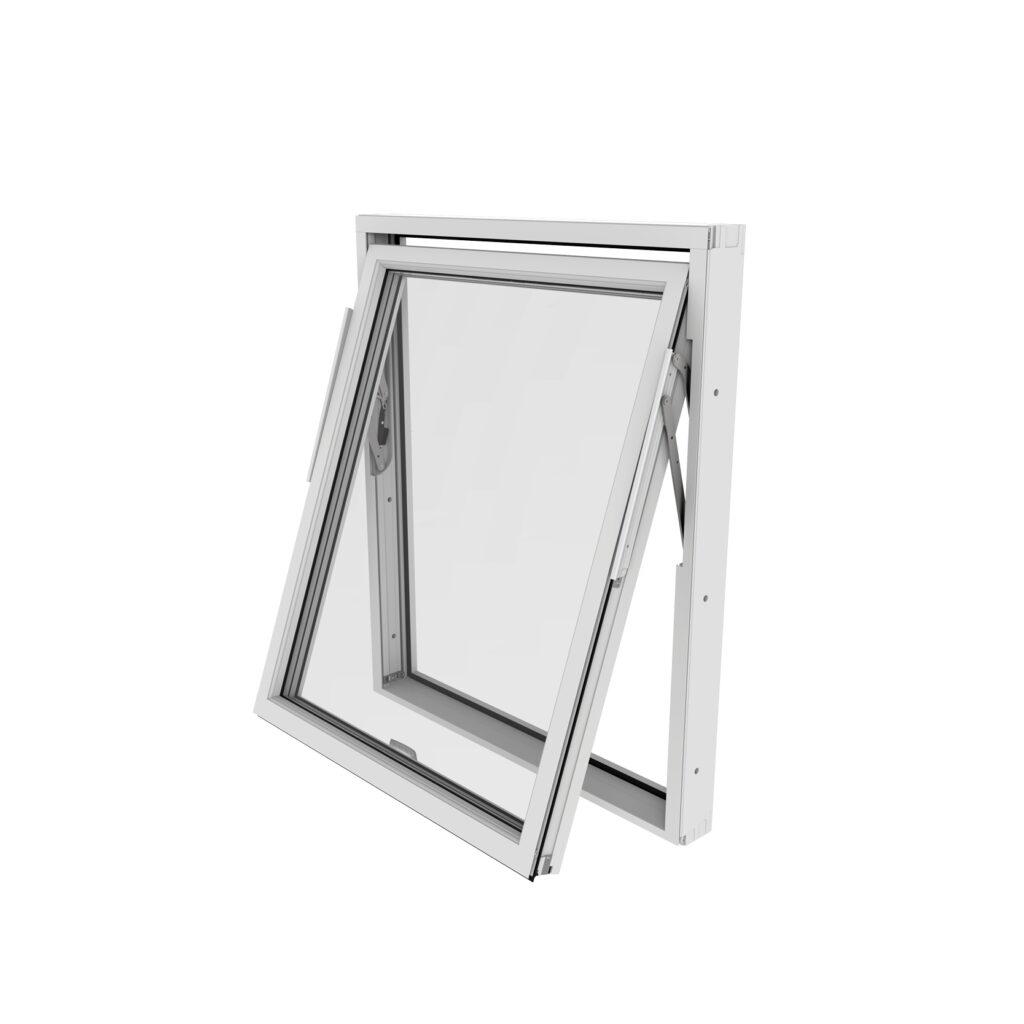 Vridfönster – Trä/Alu – Outline – Kort leveranstid