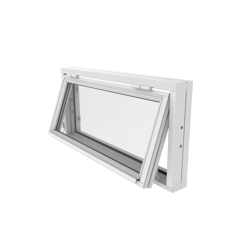 Överkantshängt Fönster 2 Glas – Trä – Outline