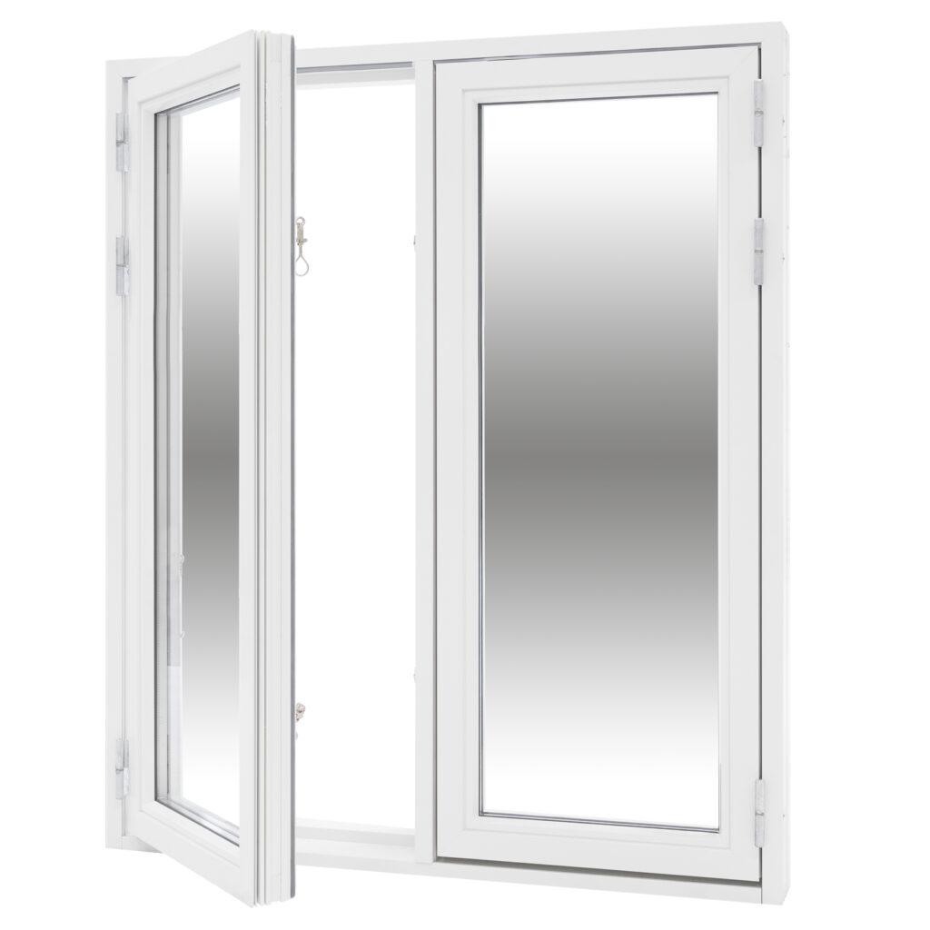 Sidohängt 2 Luft 2 Glas – Trä/Alu – Flex Fönster