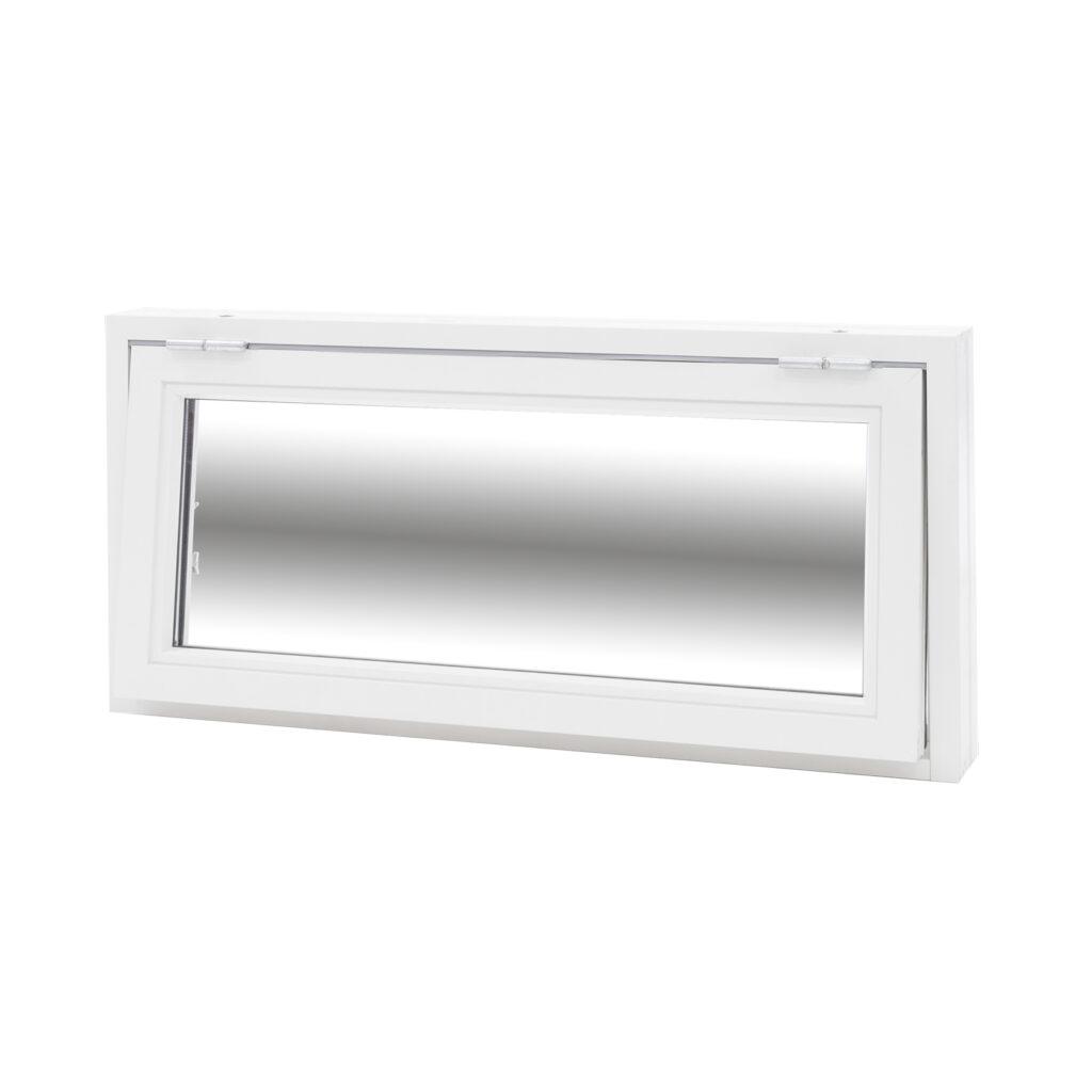 Överkantshängt 2 Glas – Trä/Alu – Flex Fönster
