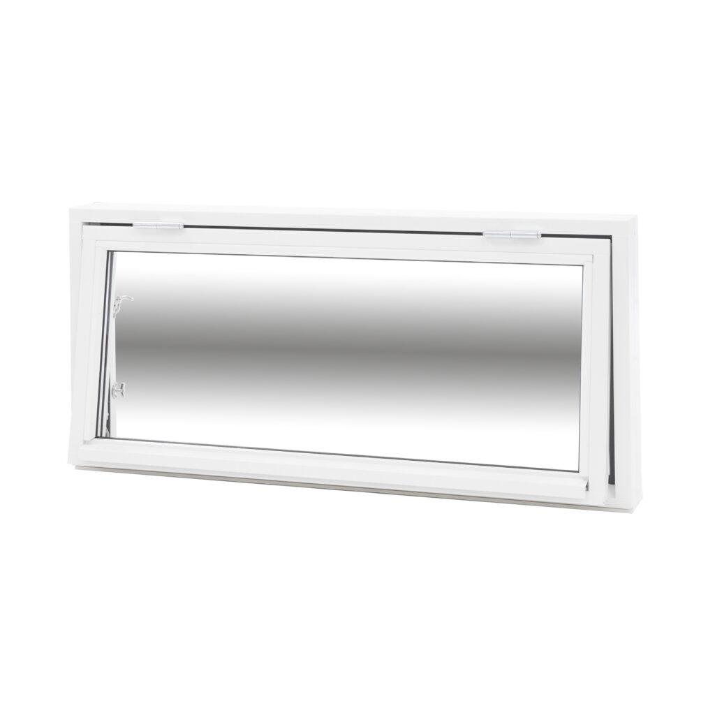 Överkantshängt 2 Glas – Trä – Flex Fönster