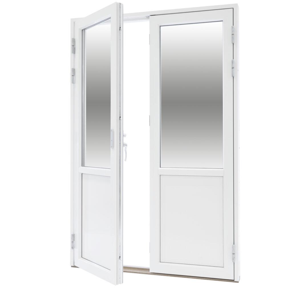 Par Altan/Balkongdörr 2 Glas – Trä/Alu – Flex Fönster- Bröstad