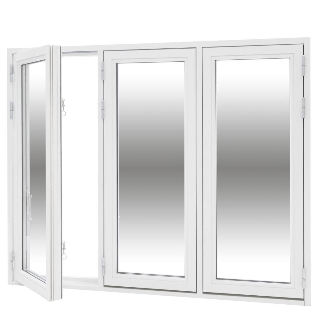 Sidohängt 3 Luft 2 Glas – Trä/Alu – Flex Fönster