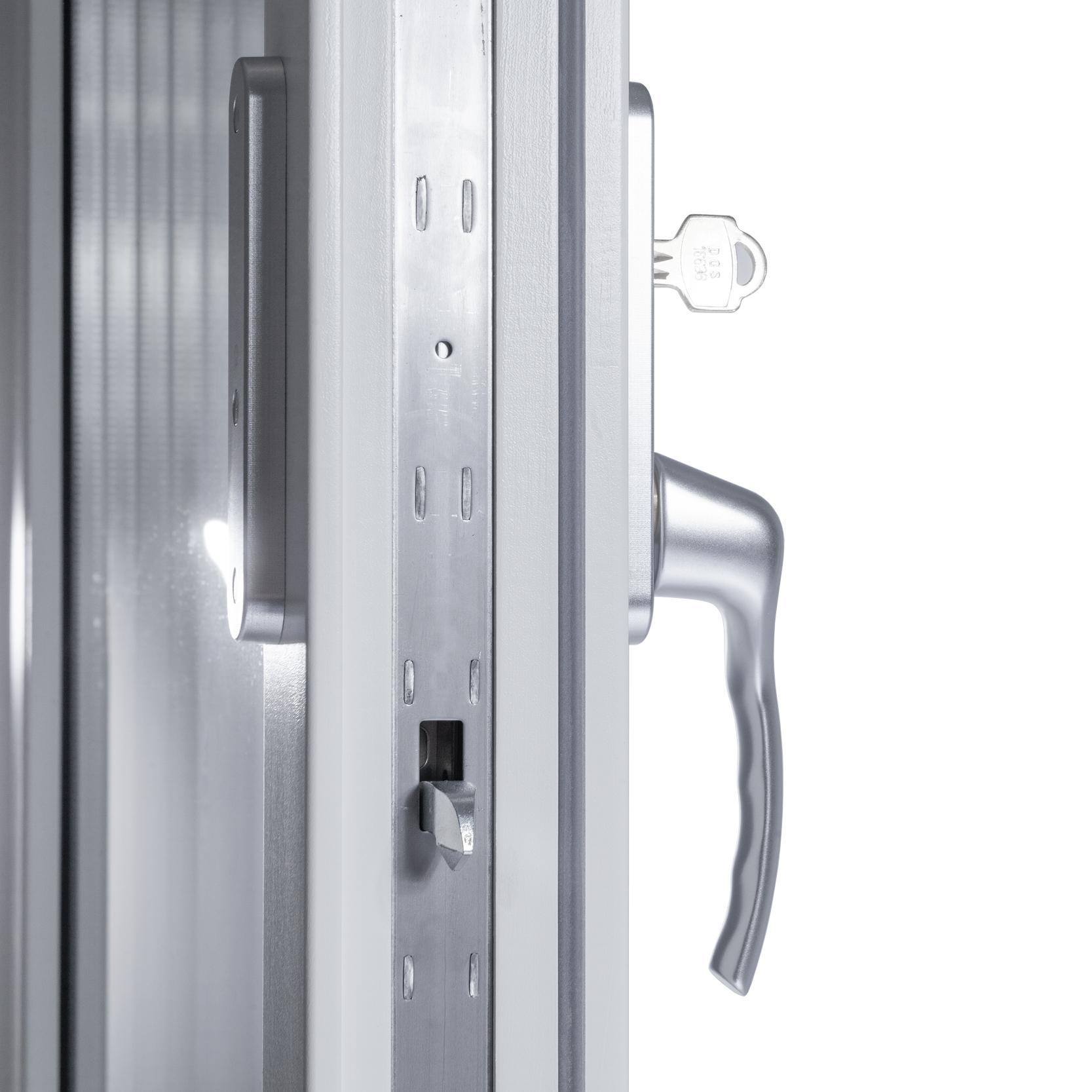 Enkel Altan/Balkongdörr 2 Glas – Trä/Alu – Flex Fönster